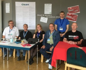 CAcert and secure-u at FrOSCon 11 in 2016