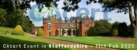CAcert Event in Staffordshire - 11th Feb 2020 at Keele University